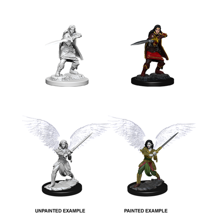 WizKids D&D Nolzur's Marvelous Miniatures: Aasimar Female Fighter (W6)
