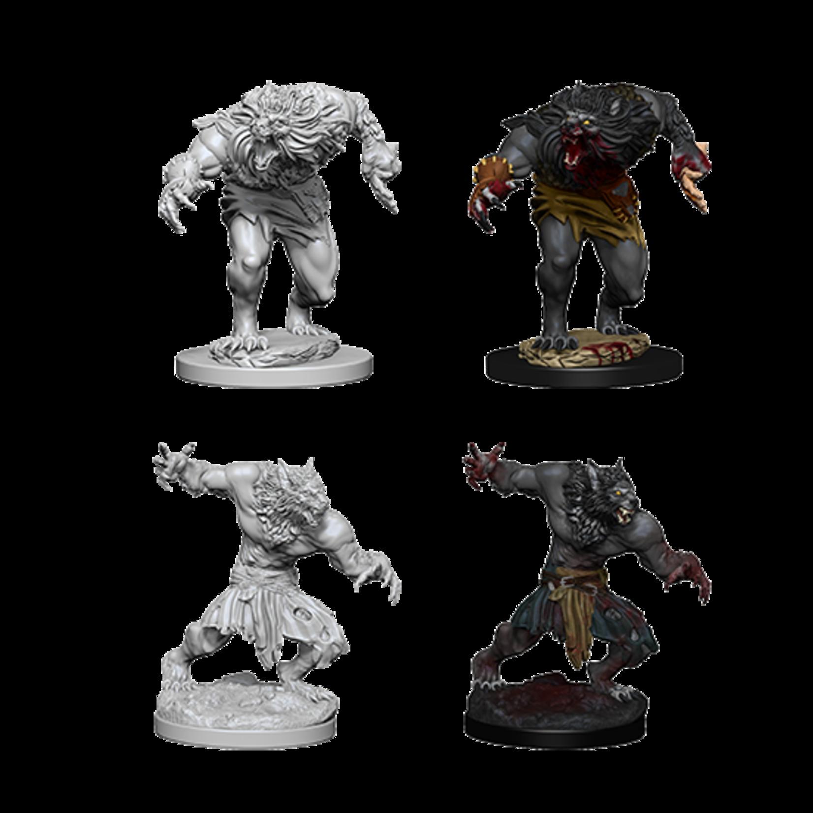 WizKids Dungeons & Dragons Nolzur`s Marvelous Unpainted Miniatures: W4 Werewolves