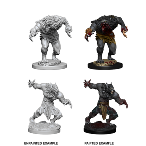 WizKids Dungeons & Dragons Nolzur's Marvelous Unpainted Miniatures: W4 Werewolves
