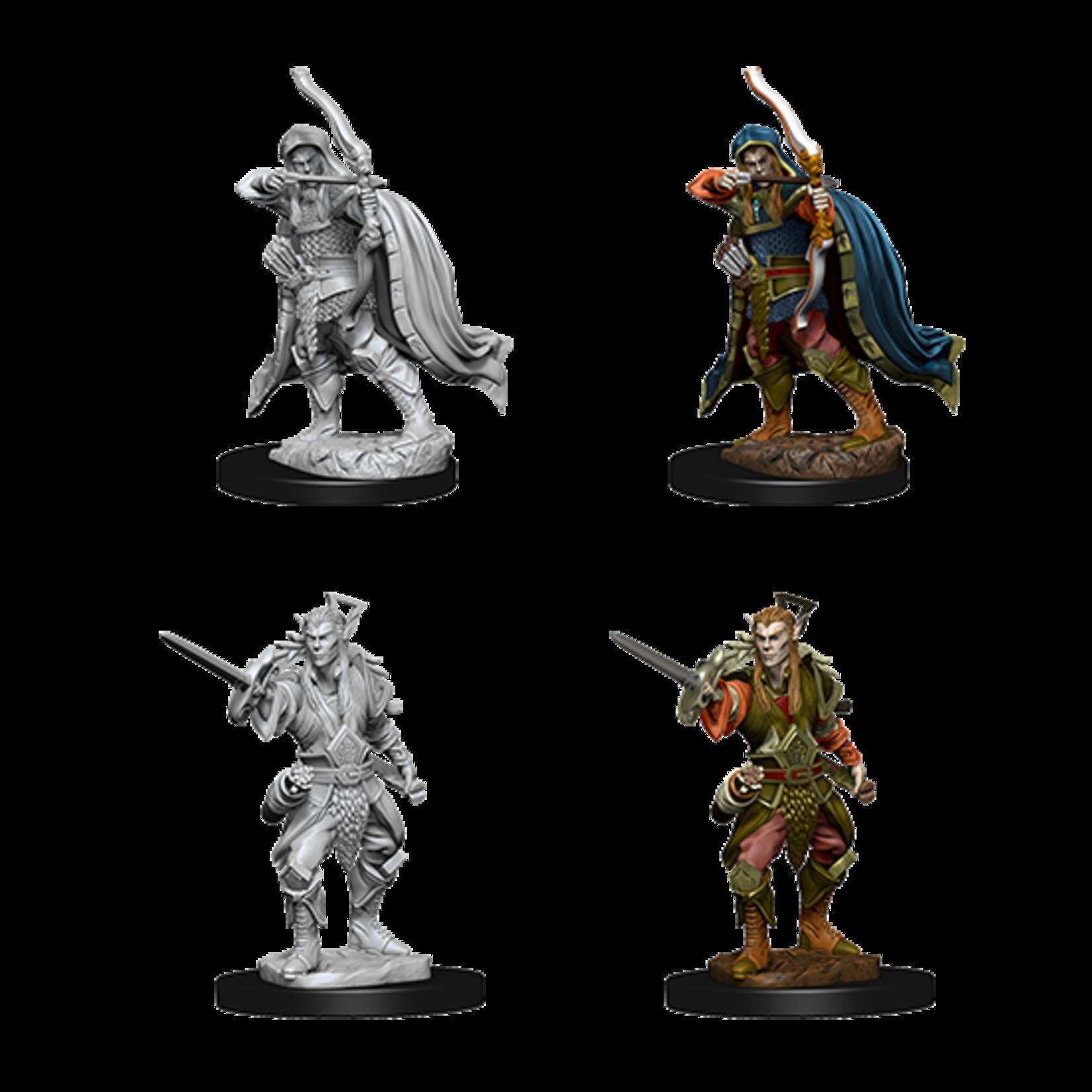 WizKids D&D Nolzur's Marvelous Miniatures: Elf Male Rogue (W7)
