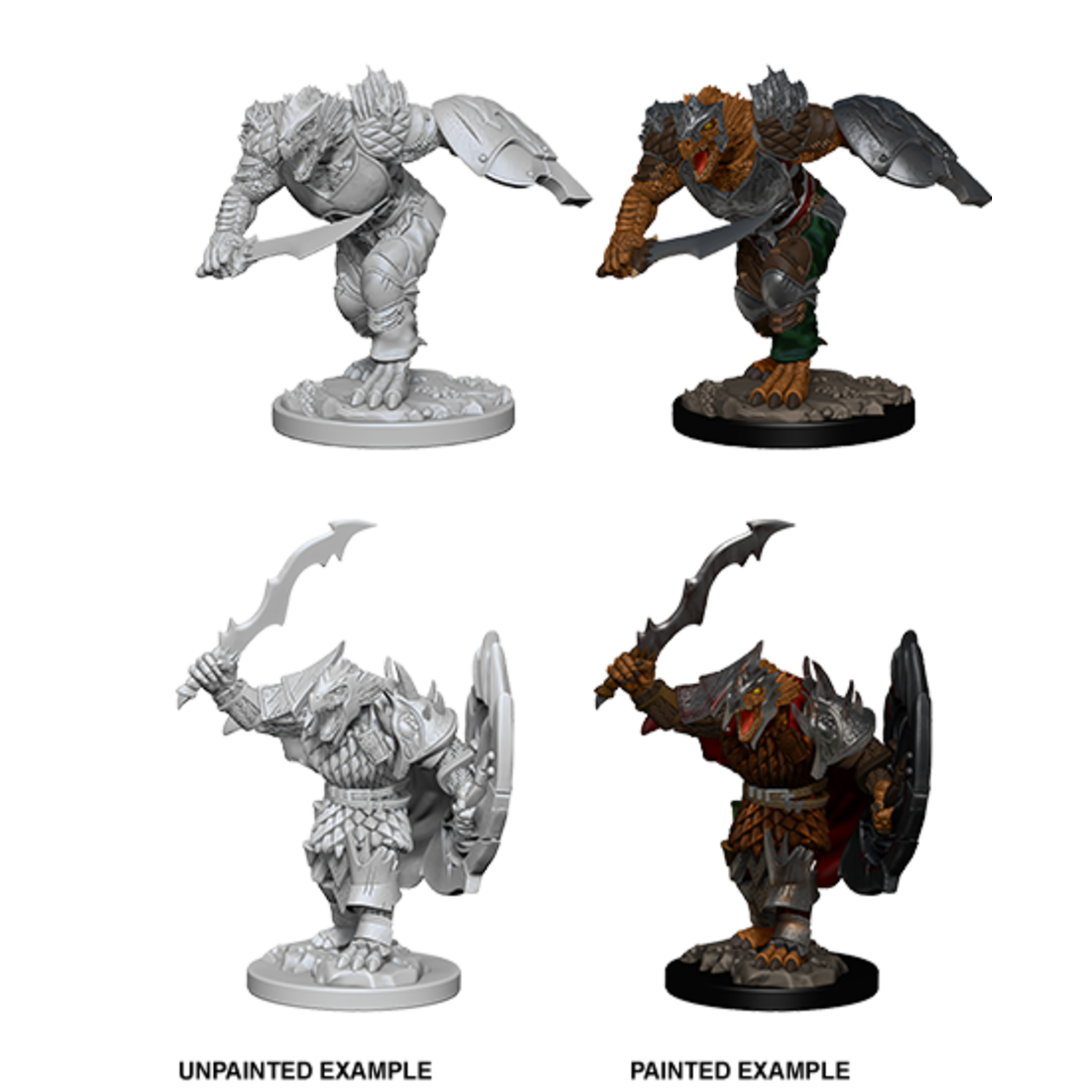 WizKids D&D Nolzur's Marvelous Miniatures: Dragonborn Fighter with Sword & Shield (W4)
