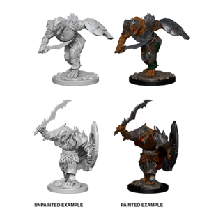 WizKids D&D Nolzur's Marvelous Miniatures: Dragonborn Fighter with Sword & Shield (W4)