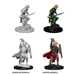 WizKids D&D Nolzur's Marvelous Miniatures: Elf Female Fighter (W6)