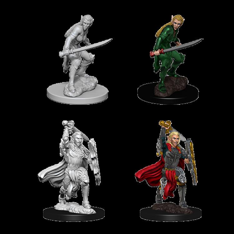 WizKids D&D Nolzur's Marvelous Miniatures: Elf Female Fighter (W6)