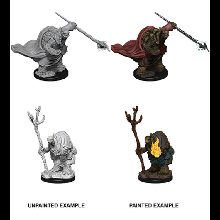 WizKids Dungeons & Dragons Nolzur's Marvelous Unpainted Miniatures: W9 Tortles Adventurers
