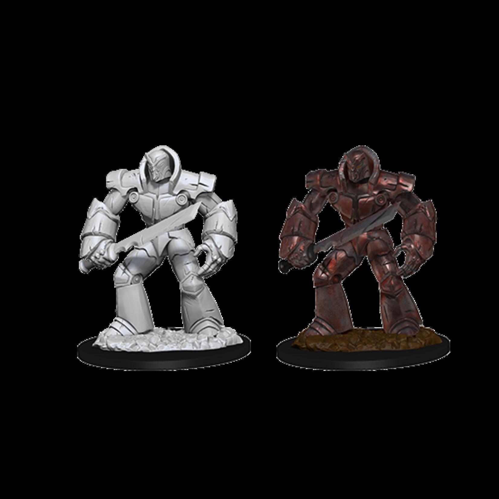 WizKids D&D Nolzur's Marvelous Miniatures: Iron Golem (W10)