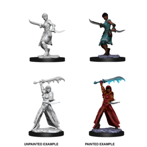 WizKids D&D Nolzur's Marvelous Miniatures: Female Human Rogue  (W10)