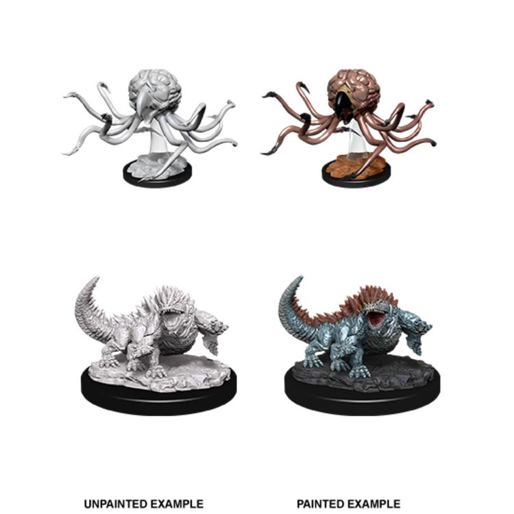 WizKids D&D Nolzur's Marvelous Miniatures: Grell & Basilisk (W11)