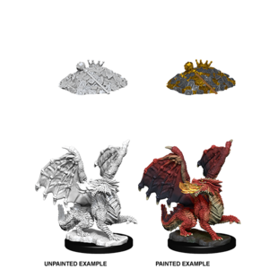 WizKids D&D Nolzur's Marvelous Miniatures: Red Dragon Wyrmling (W10)