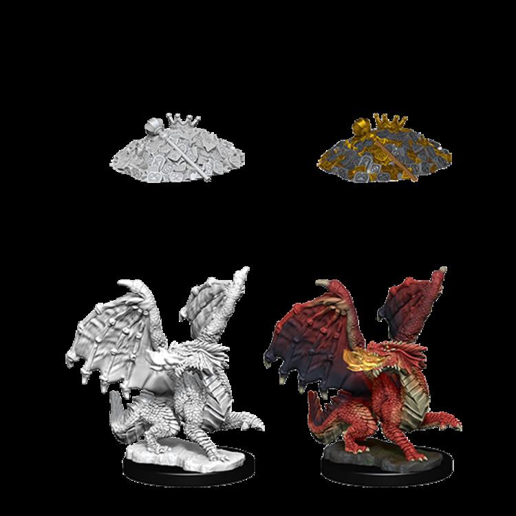 WizKids D&D Nolzur's Marvelous Miniatures: Red Dragon Wyrmling (W10)