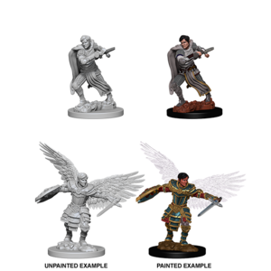 WizKids D&D Nolzur's Marvelous Miniatures: Aasimar Male Fighter (W6)