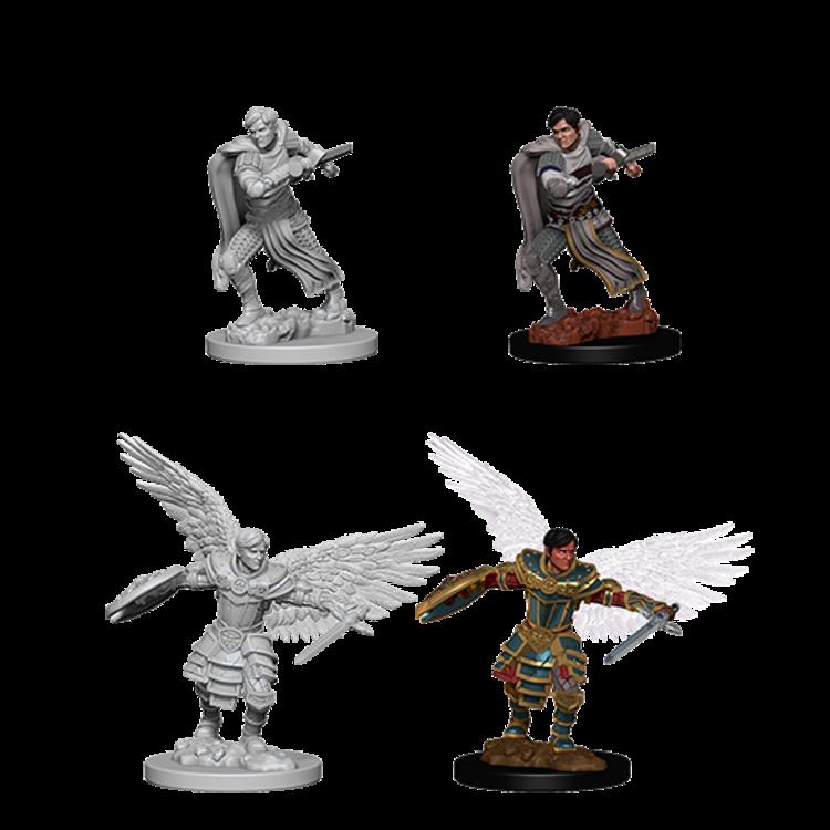 WizKids D&D Nolzur's Marvelous Miniatures: Aasimar Male Fighter (W6)