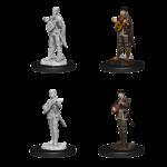 WizKids D&D Nolzur's Marvelous Miniatures: Half-Elf Female Bard (W7)