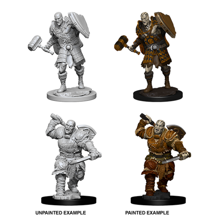 WizKids D&D Nolzur's Marvelous Miniatures: Goliath Male Fighter (W7)