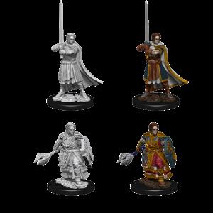 WizKids D&D Nolzur's Marvelous Miniatures: Human Male Cleric (W8)
