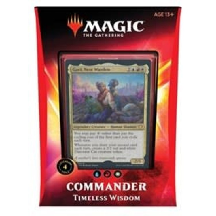 Wizards of the Coast Magic the Gathering - Commander 2020: Timeless Wisdom