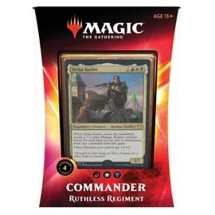 Wizards of the Coast Magic the Gathering - Commander 2020: Ruthless Regiment