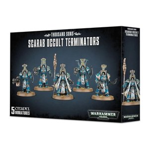Games Workshop Warhammer 40k: Thousand Sons: Scarab Occult Terminators
