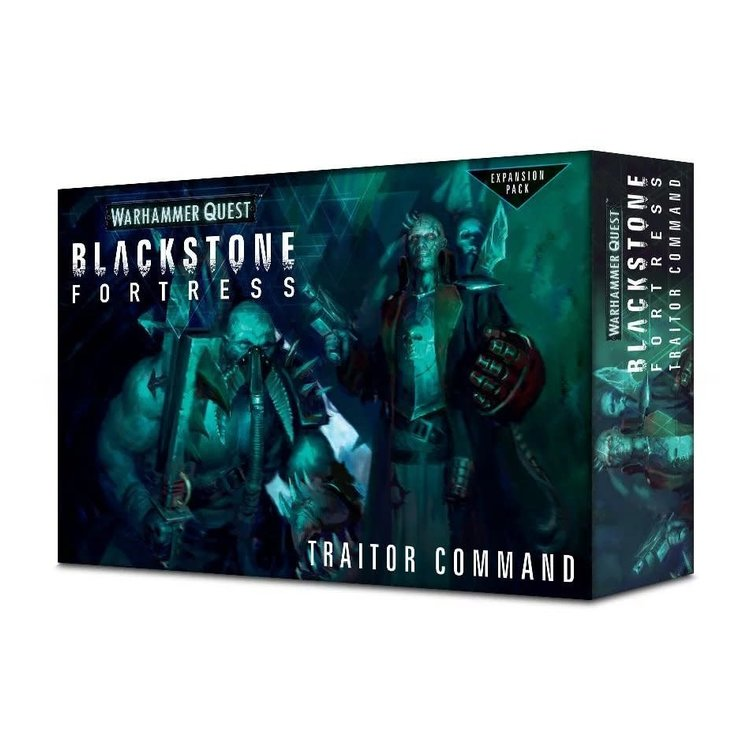 Games Workshop Blackstone Fortress Traitor command