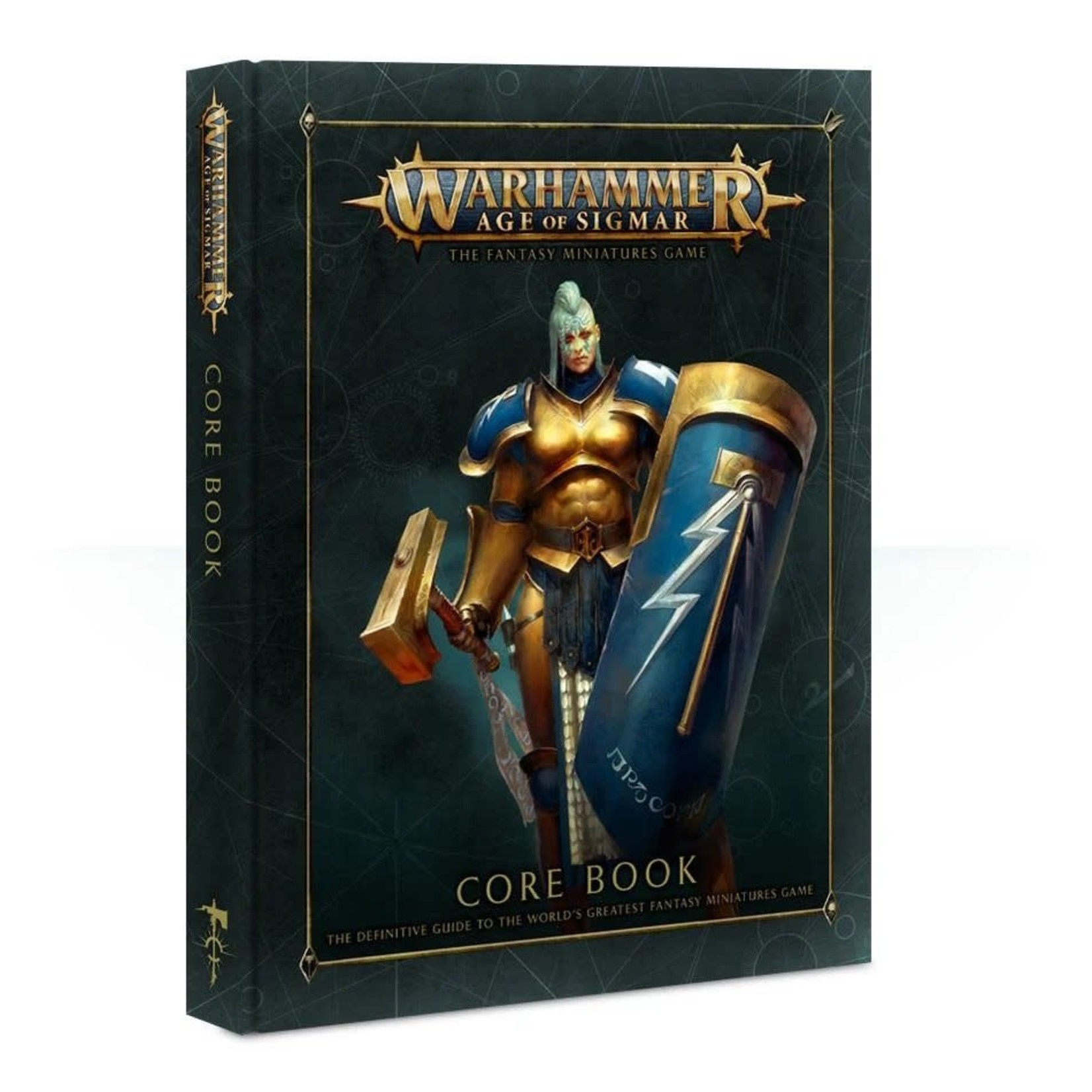 Games Workshop Warhammer Age of Sigmar: Core Rulebook (Hardcover)