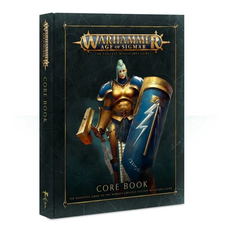 Games Workshop Warhammer Age of Sigmar: Core Rulebook (Hardcover)