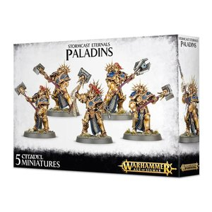 Games Workshop Warhammer Age of Sigmar: Stormcast Eternals: Paladins (Retributors/Protectors/Decimators)