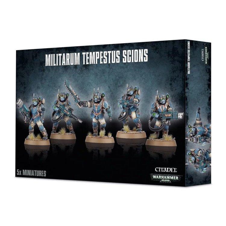 Games Workshop Warhammer 40k: Militarum Tempestus Scions (Scions Command Squad Optional)