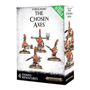 Games Workshop Warhammer Age of Sigmar: Fyreslayers: The Chosen Axes
