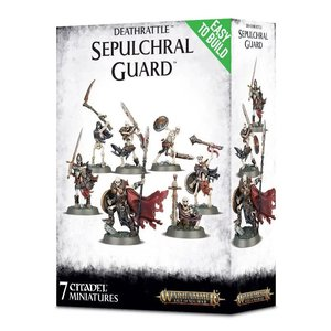 Games Workshop Warhammer Age of Sigmar: Deathrattle: Sepulchral Guard
