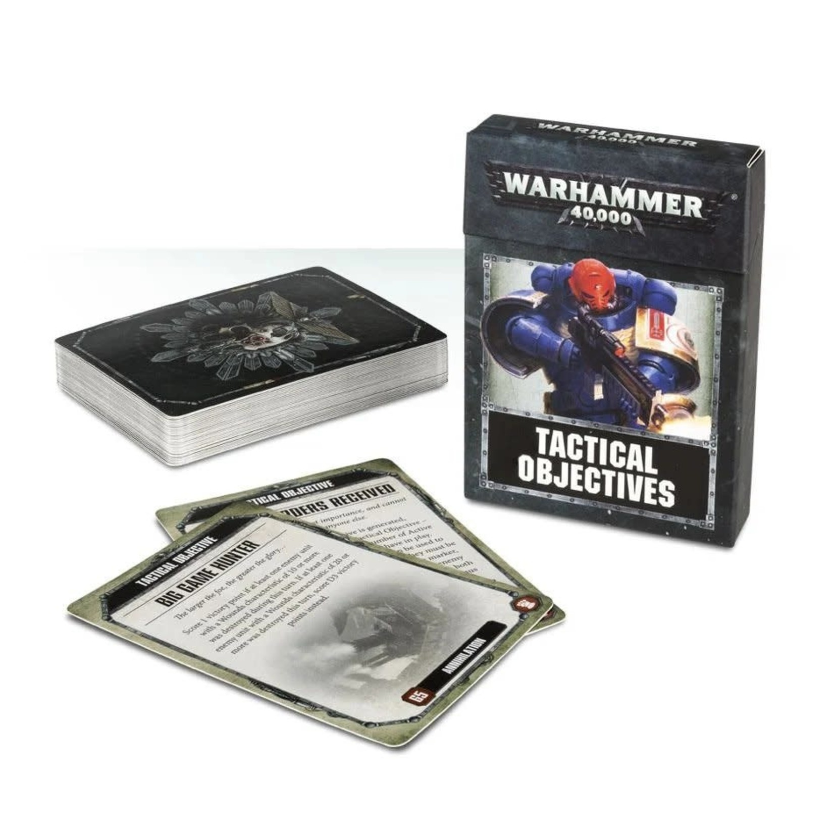 Games Workshop Warhammer 40k: Tactical Objectives Cards