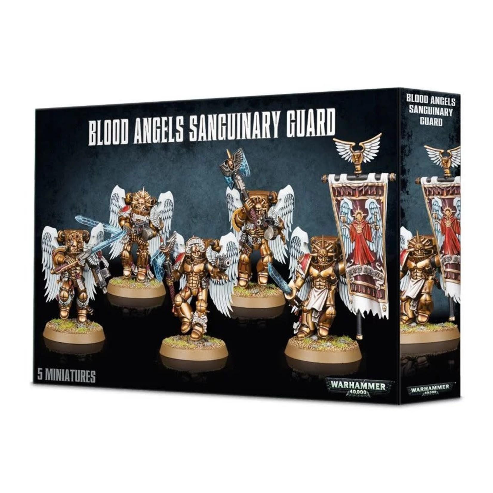 Games Workshop Warhammer 40k: Space Marine - Blood Angels Sanguinary Guard