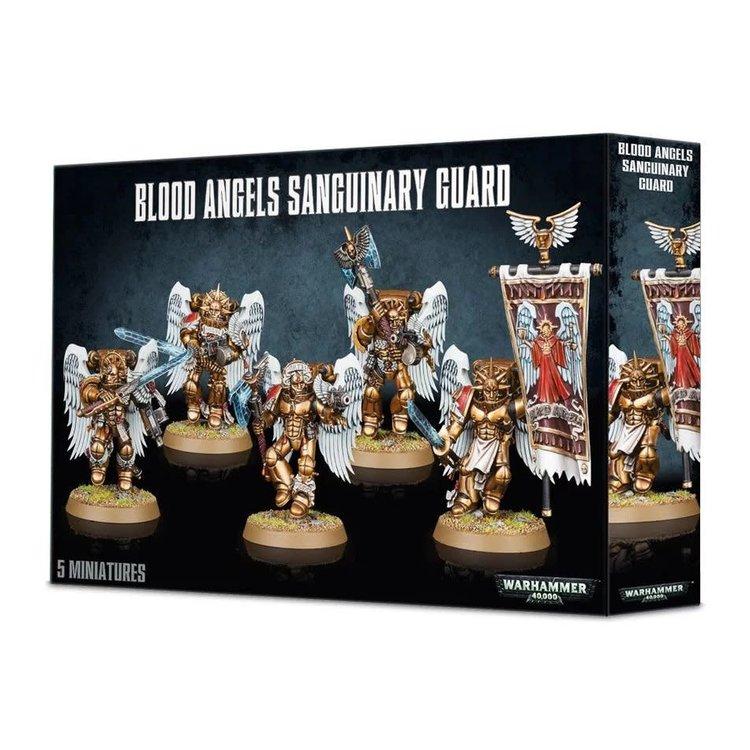 Games Workshop Warhammer 40k: Blood Angels: Sanguinary Guard