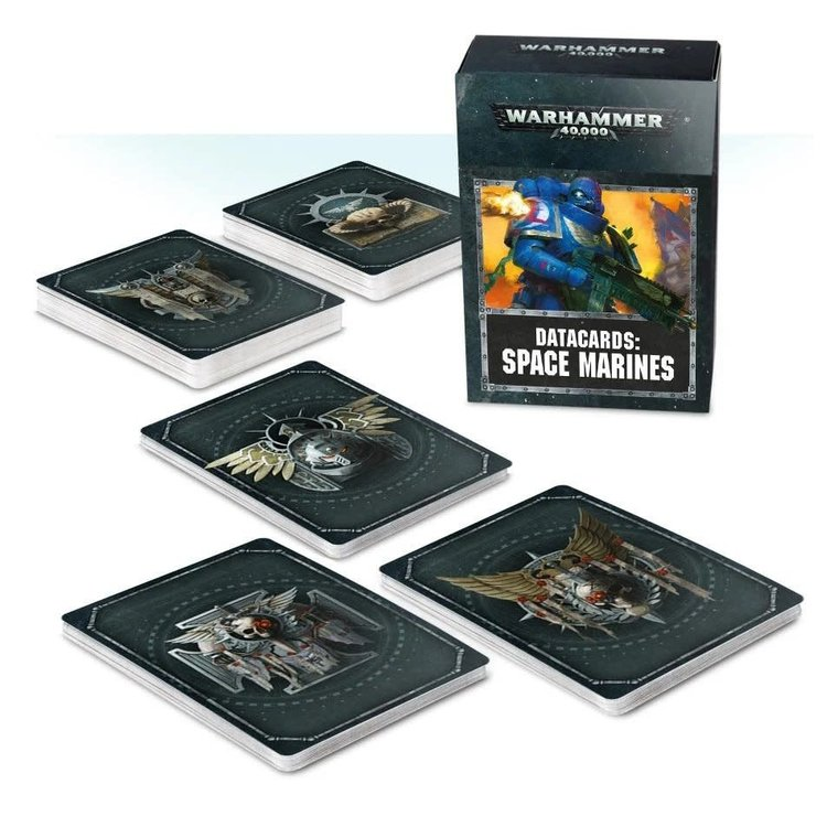 Games Workshop Warhammer 40k: Space Marines - Datacards (8th ed.)