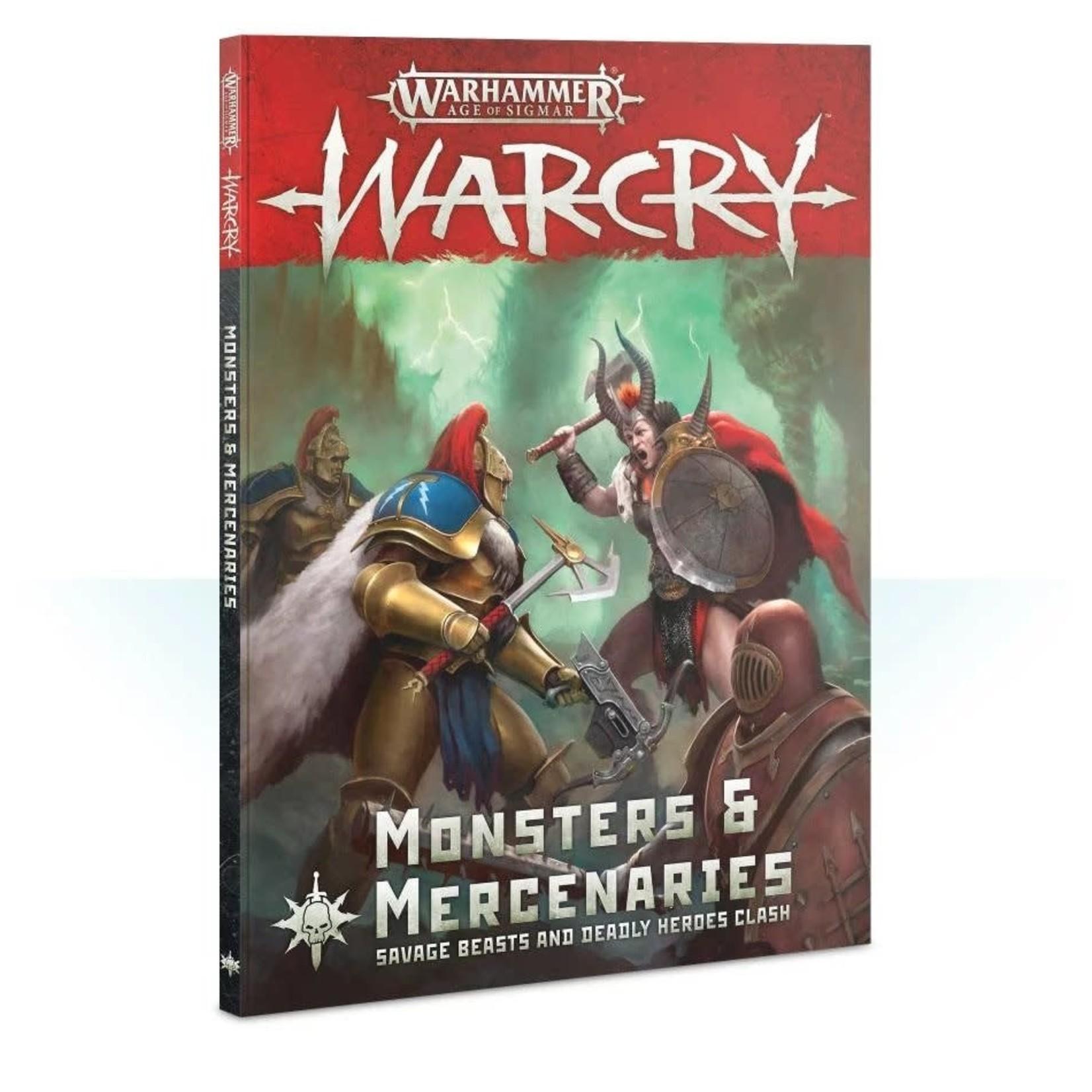 Games Workshop Warhammer Age of Sigmar: Warcry - Monsters and Mercenaries