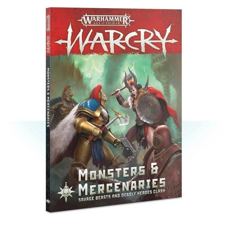 Games Workshop Warhammer Age of Sigmar Warcry: Monsters and Mercenaries
