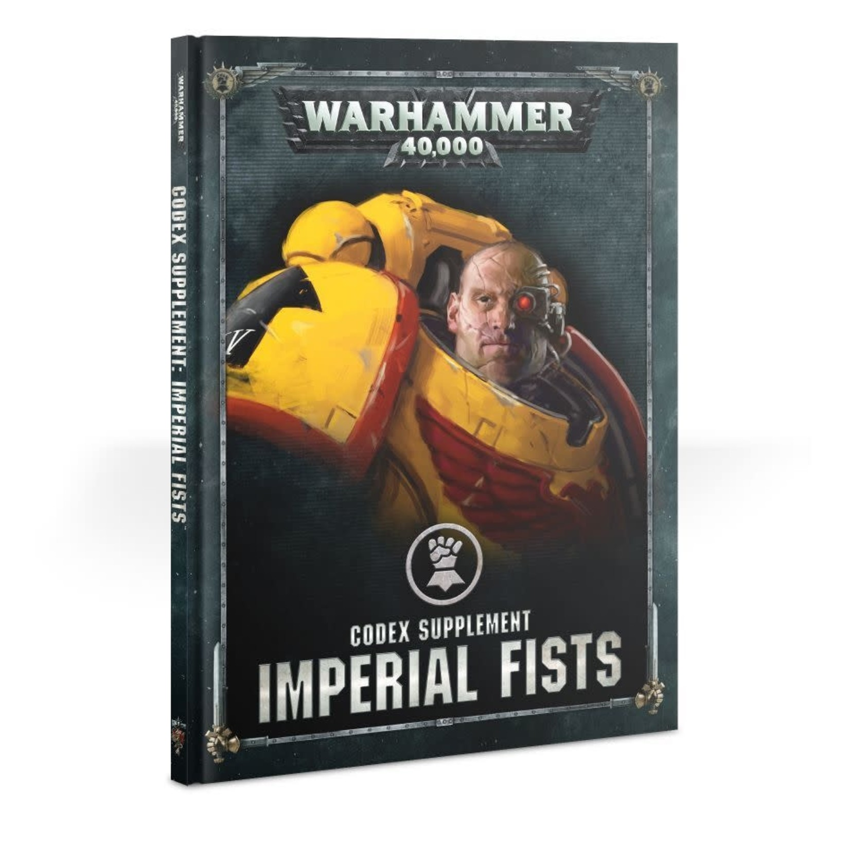 Games Workshop Warhammer 40k: Imperial Fists - Codex Supplement