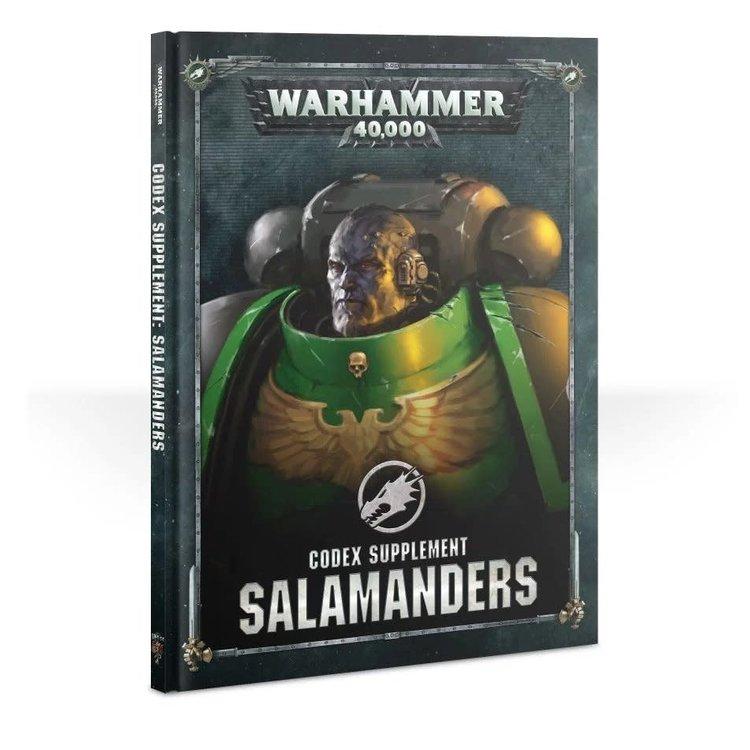 Games Workshop Warhammer 40k: Salamanders - Codex Supplement