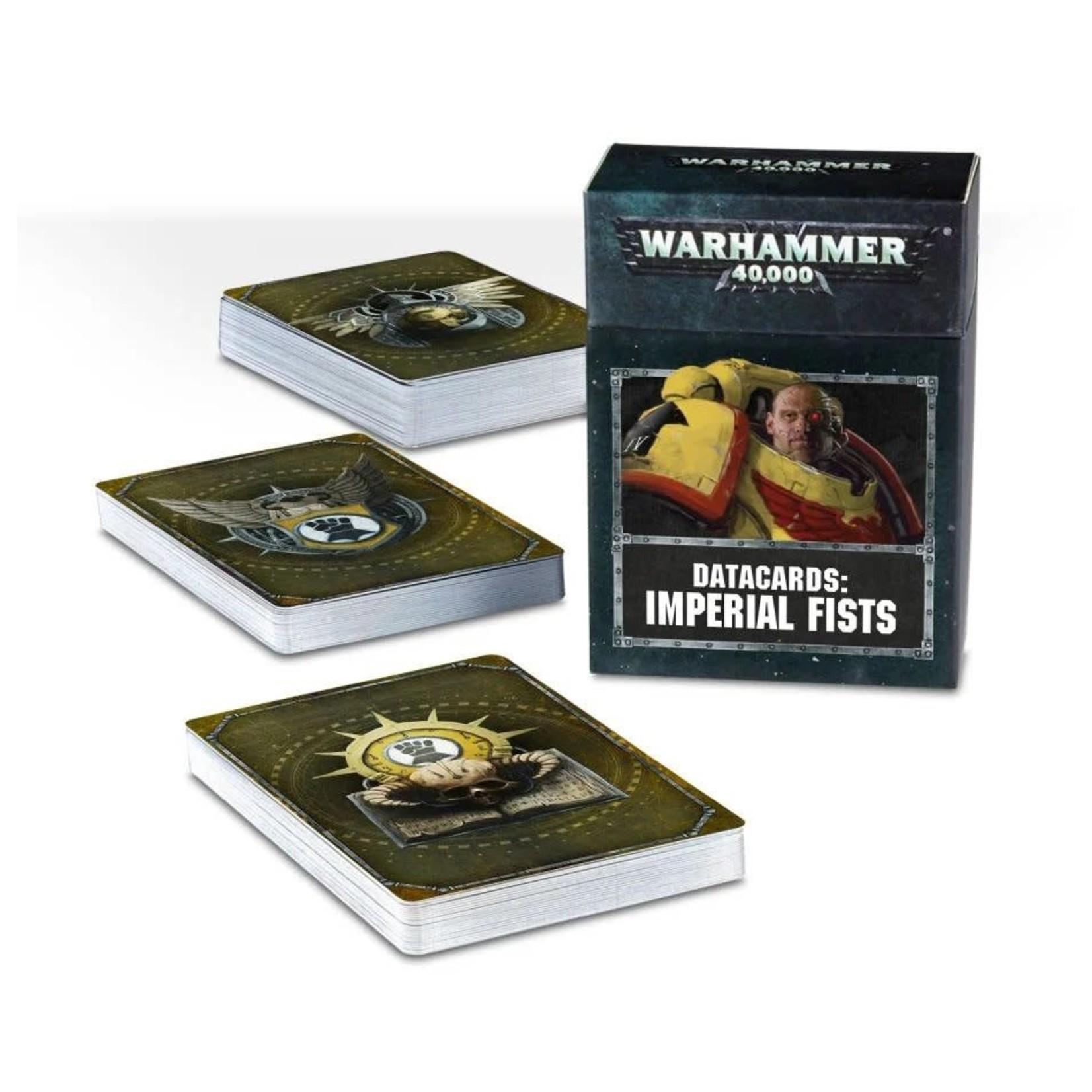 Games Workshop Warhammer 40k: Imperial Fists Datacards