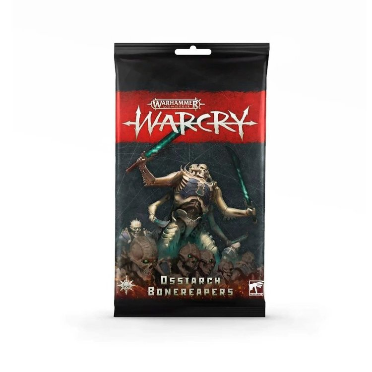 Games Workshop Warhammer Age of Sigmar: Warcry Card Pack - Ossiarch Bonereapers
