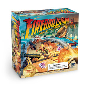 Restoration Games Fireball Island: Wreck of Crimson Cutlass