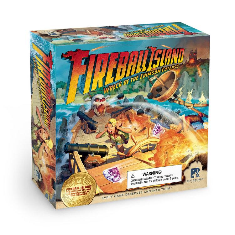 Restoration Games Fireball Island: Wreck of Crimson Cutlass