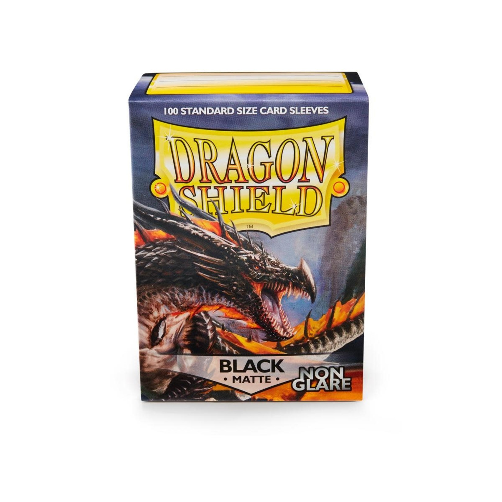 Arcane Tinman Dragon Shields: Card Sleeves - Black Non-Glare Matte (100)