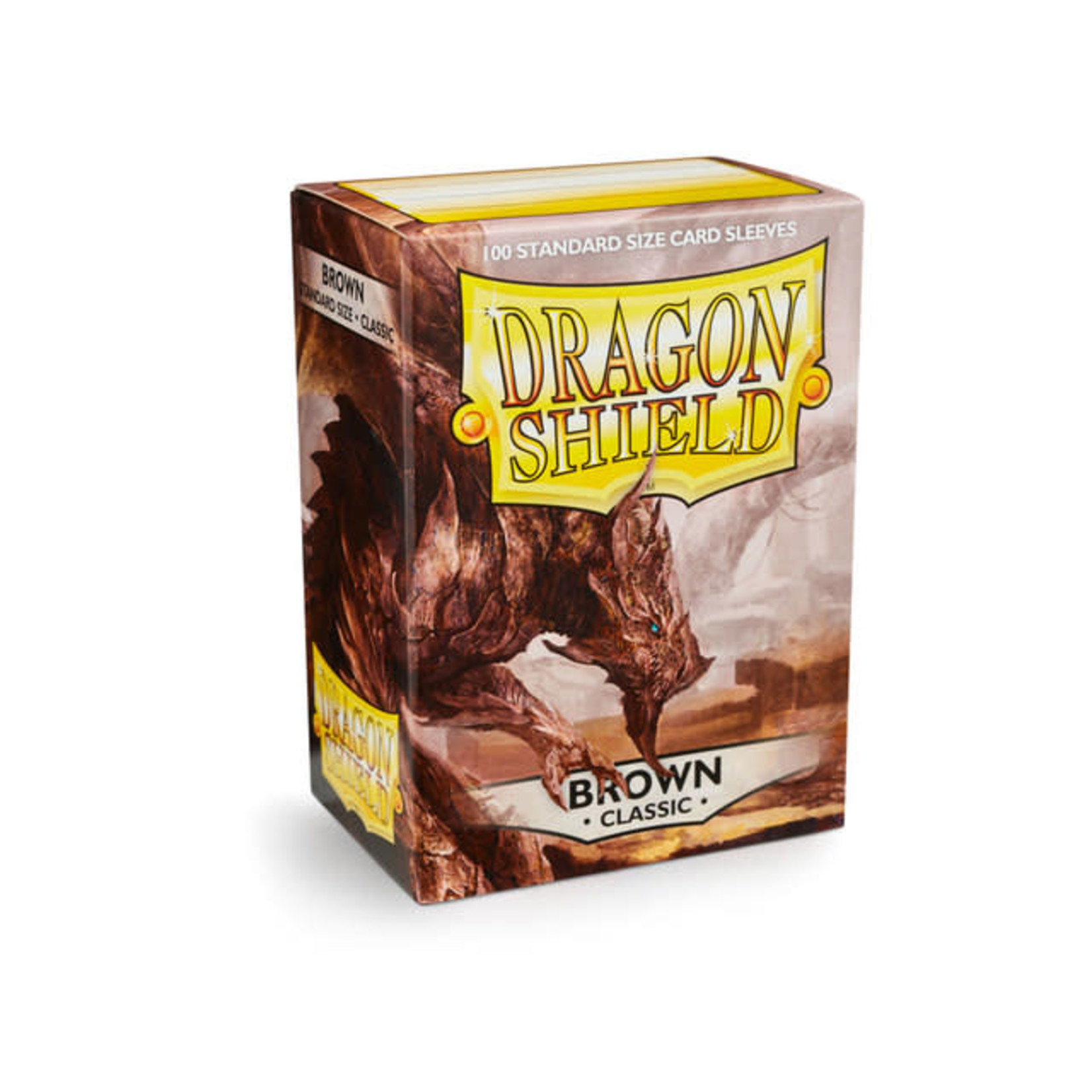 Arcane Tinman Dragon Shields: Card Sleeves - Brown Classic (100)
