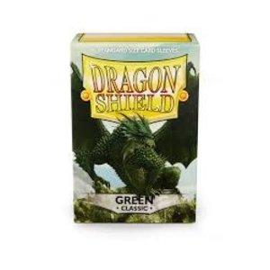 Arcane Tinman Dragon Shields: Card Sleeves - Green Classic (100)