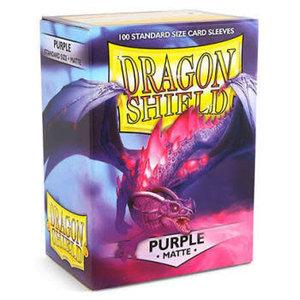 Arcane Tinman Dragon Shields: Card Sleeves - Matte Purple (100)
