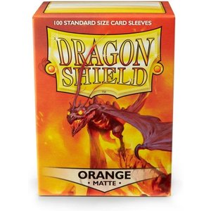 Arcane Tinman Dragon Shields: Card Sleeves - Orange Matte (100)