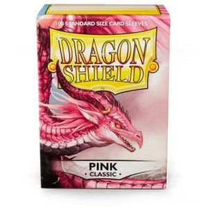 Arcane Tinman Dragon Shields: Card Sleeves - Pink Classic (100)