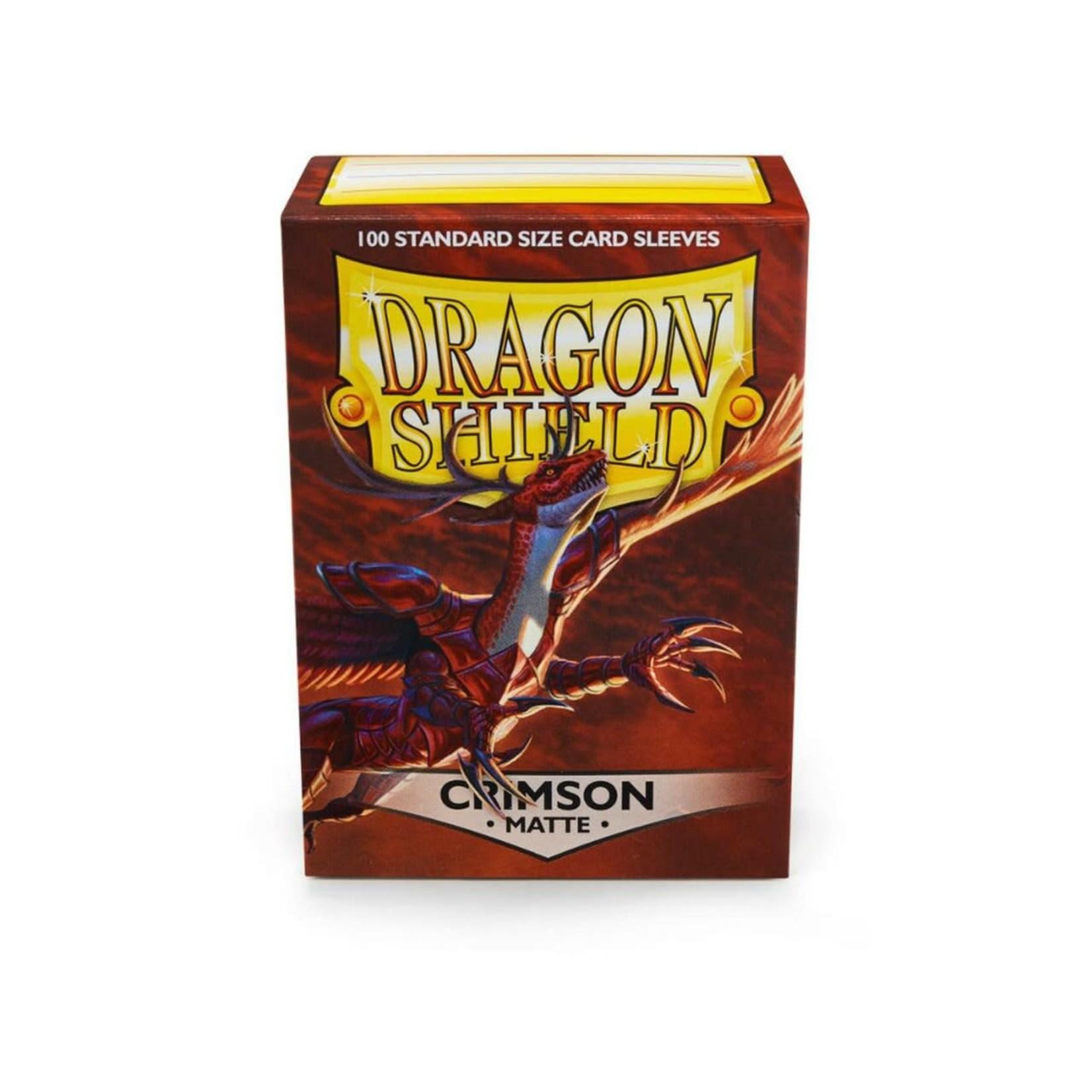 Arcane Tinman Dragon Shields: Cards Sleeves -  Crimson Matte (100)
