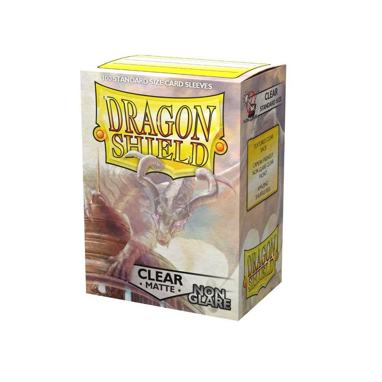 Arcane Tinman Dragon Shields: Cards Sleeves -  Non Glare Clear Matte (100)