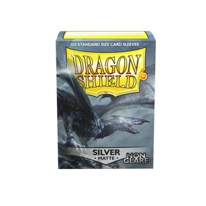 Arcane Tinman Dragon Shields: Cards Sleeves -  Non Glare SilverMatte (100)
